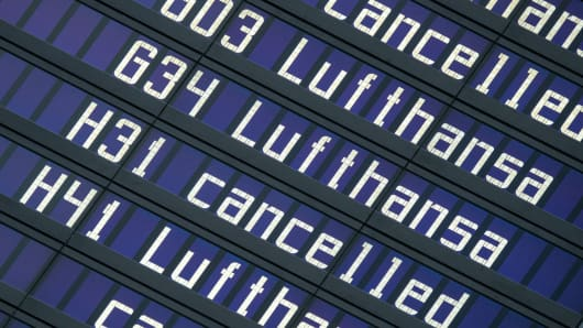 GERMANY-WAGE-STRIKE-AVIATION-LUFTHANSA