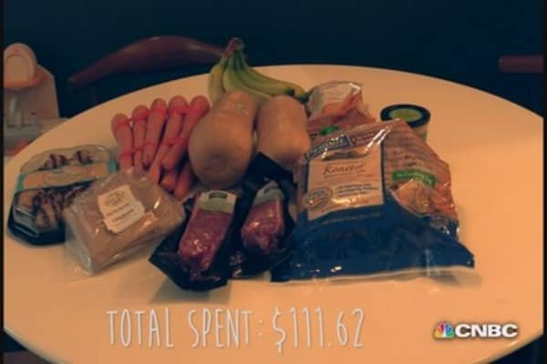 Amazon Fresh: What's in the bag?