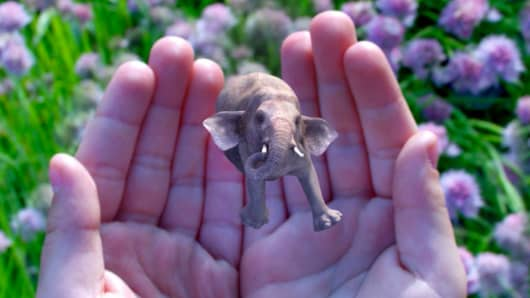 A still image from a Magic Leap promotional video.