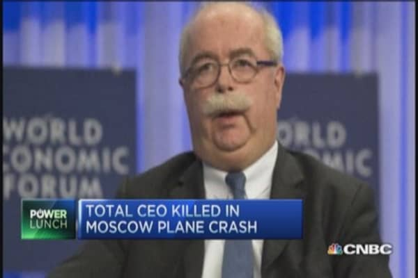 Total CEO killed in plane crash