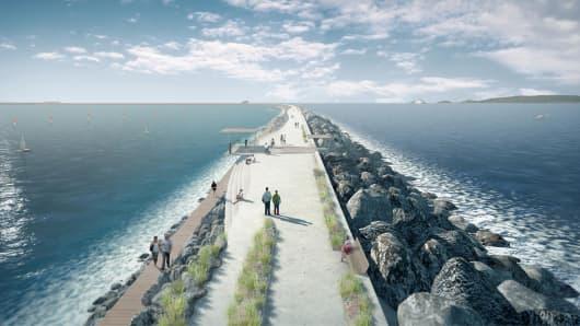Tidal Waves Become New Source of  Renewable Energy