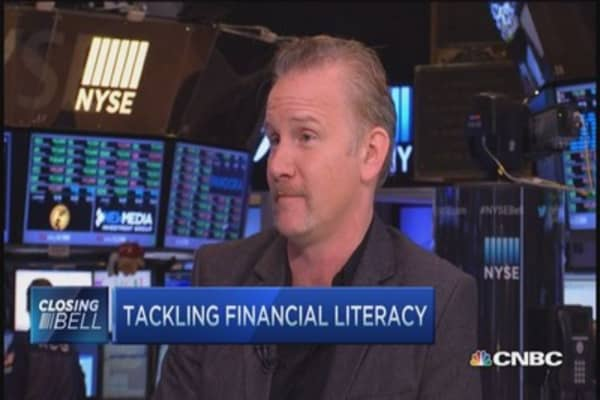 Morgan Spurlock demystifies US economy