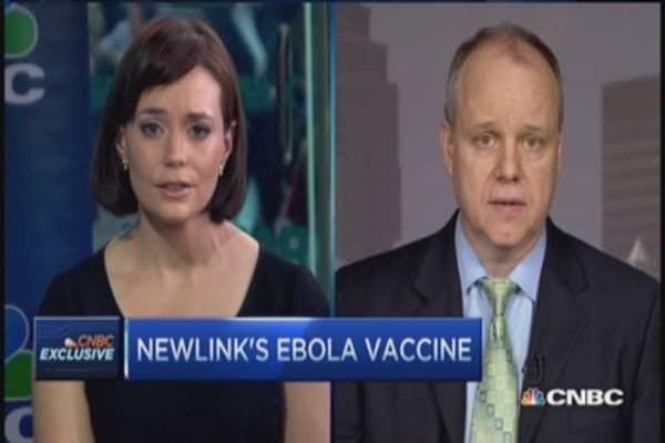 NewLink's Ebola vaccine