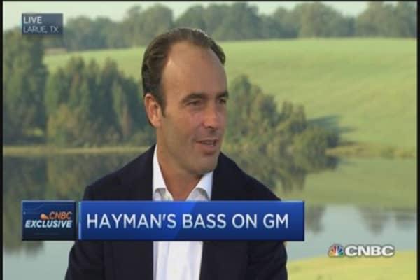 Hayman still owns General Motors