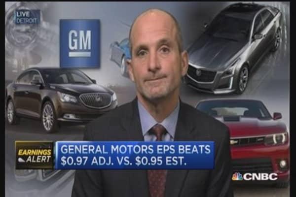 GM CFO on earnings results