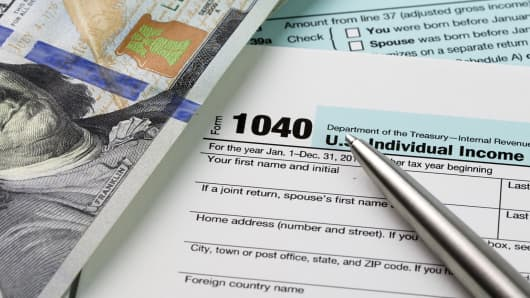 income tax retirement IRS taxes