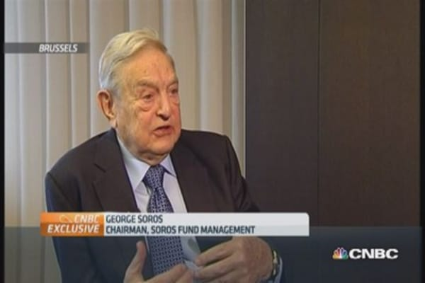 Europe needs more stimulus: Soros