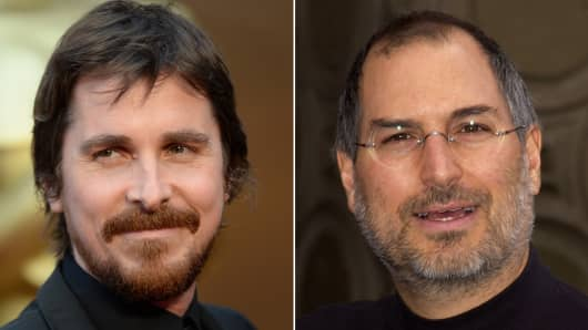 Christian Bale to play Steve Jobs in an upcoming film.