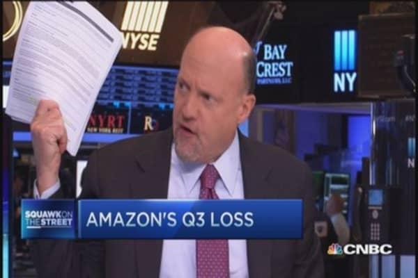 Cramer: No longer forgiving of Amazon