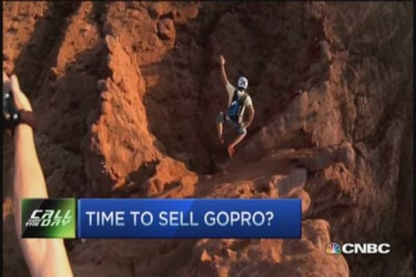 Time to sell GoPro?