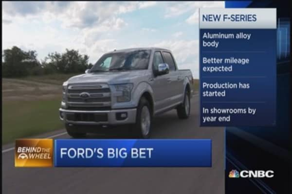 Ford's big F-Series bet