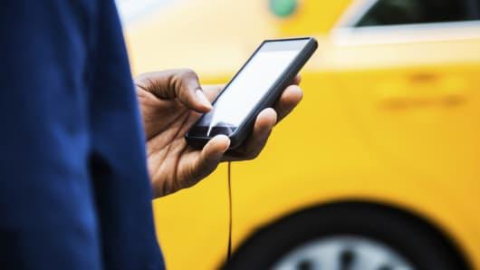 Premium taxi app