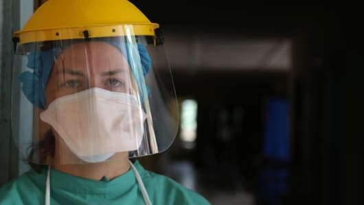 Dr. Erica Saphire, a scientist with the Scripps Research Institute, who used crowdfunding to research a cure for Ebola.