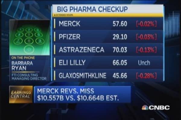 Checkup on big pharma