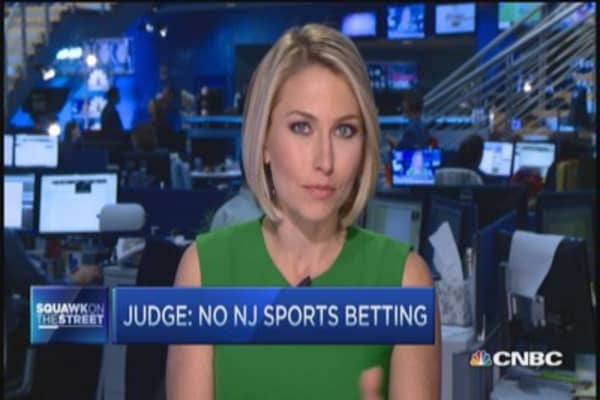 Gambling blocked in NJ