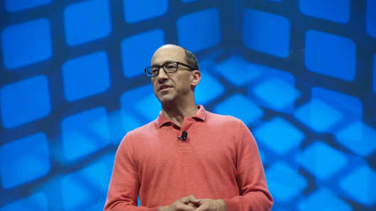 Dick Costolo, CEO of Twitter.