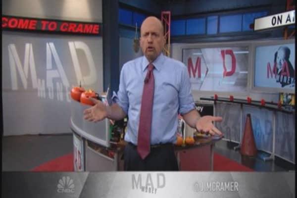 Cramer: Dazed and confused market