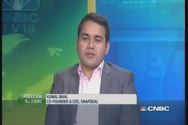 Snapdeal CEO: 'Excited to have Softbank on board'