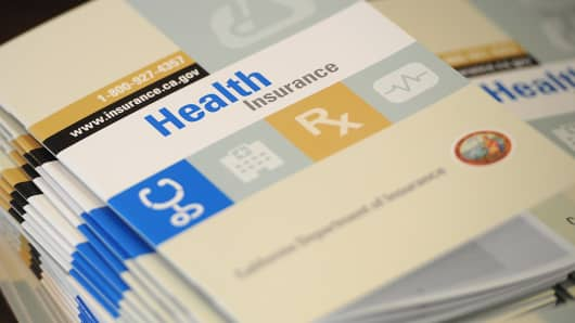 Health Care insurance options in California.