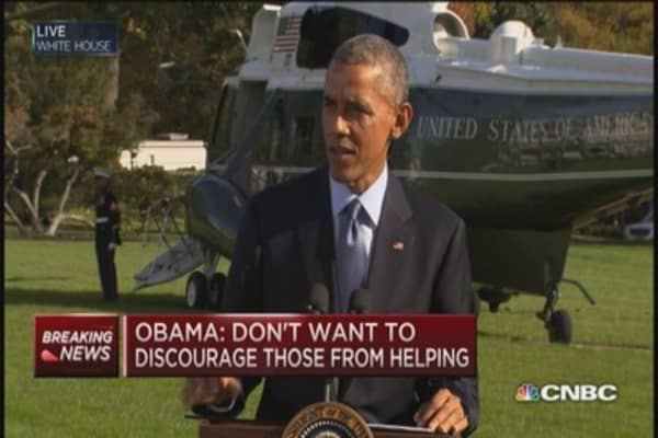 Pres. Obama: Ebola will be defeated