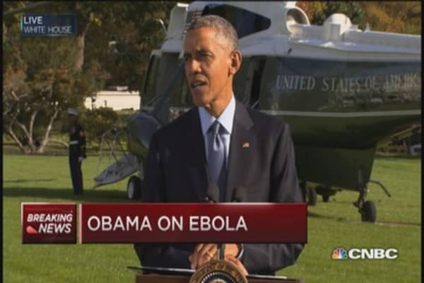 Pres. Obama: Ebola progress in Liberia