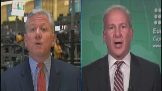 Scott Nations and Peter Schiff