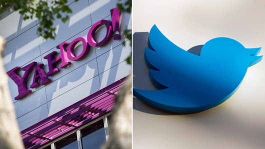 Yahoo! vs. Twitter