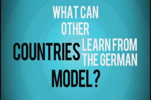 What can other countries learn from Germany?
