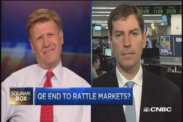 Markets eye end of QE era