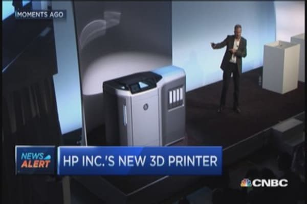 Look at HP's new 3D printer