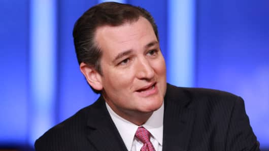 "Sen. Ted Cruz, R-Texas, on ""Squawk Box"""