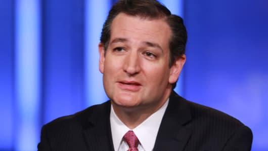 Ted Cruz Squawk box, Ted Cruz CNBC, Ted Cruz