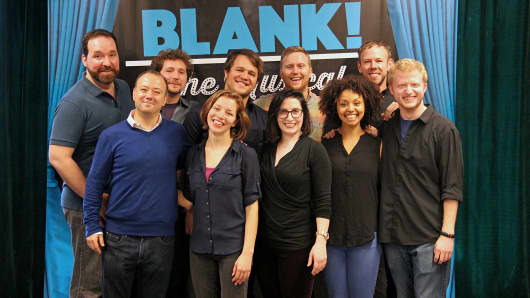 Cast of 'Blank! The Musical""
