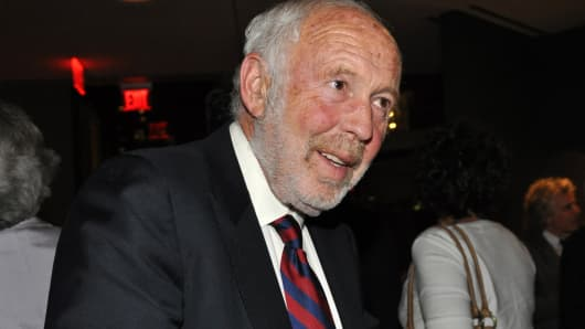 James Simons of Renaissance Technologies in 2011.