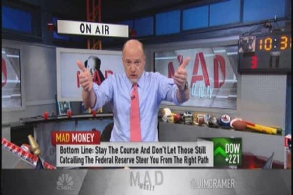 Cramer: Apologies owed on Wall Street