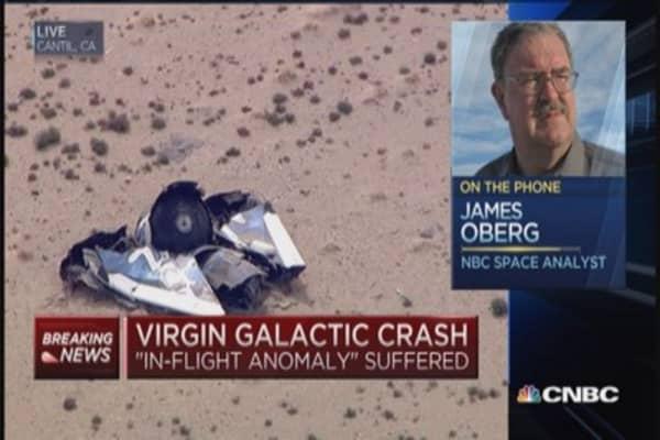 Virgin crash: What did they overlook?