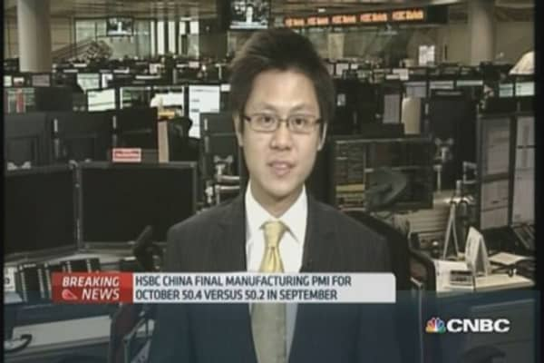 HSBC: 'China is running below full speed'