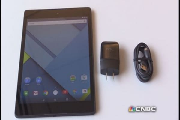 Unboxing the Nexus 9
