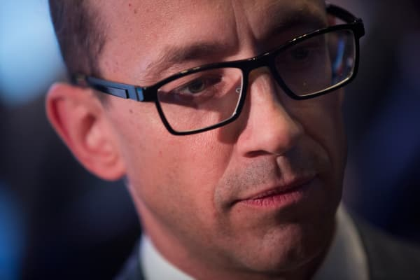 Richard 'Dick' Costolo, chief executive officer of Twitter