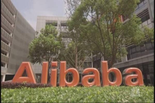 Alibaba's revenue increases, profits drop