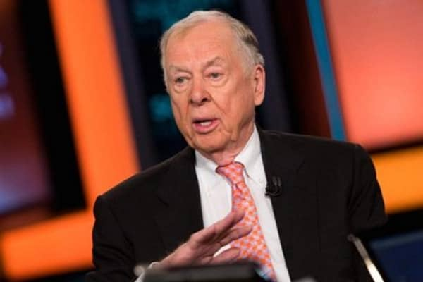 Boone Pickens: Stop drilling for oil!