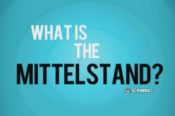 What is the Mittelstand?