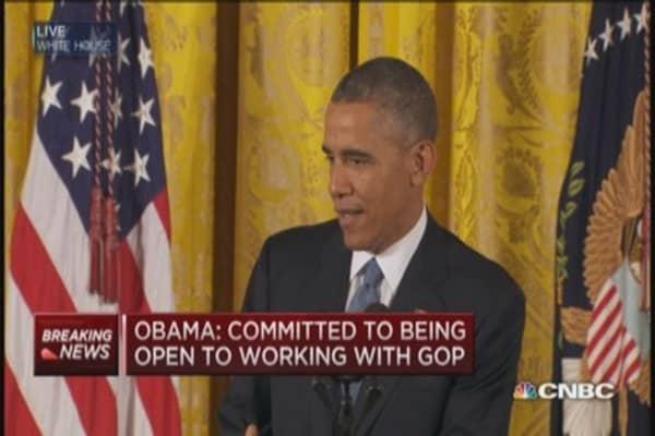 President Obama's number 1 goal