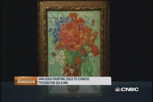 Chinese mogul buys van Gogh artwork at record price