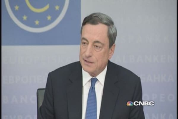'It's normal to disagree': Draghi on reports of ECB rift