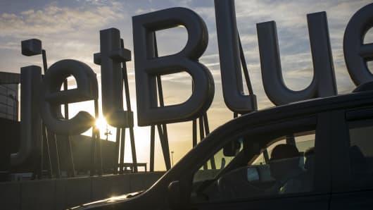 JetBlue departures terminal at JFK