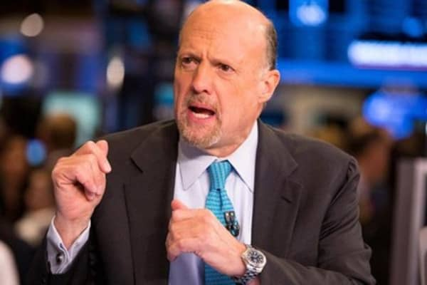 Cramer: Market up, we're creating jobs