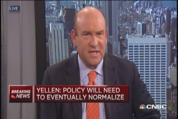 Yellen: Normalization could create more volatility