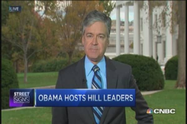 Obama hosts GOP on Capitol Hill