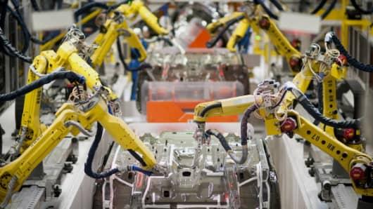 Robots And Technology Threaten 10 Million Uk Jobs